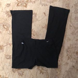 Nike dri fit flare pant